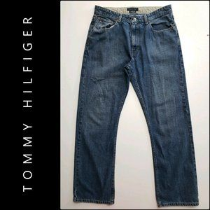 Tommy Hilfiger Freedom Fit Denim Straight Jeans